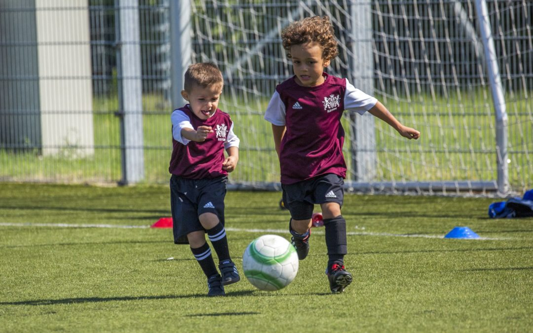 L'école de foot du SLO, un franc succès