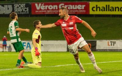 Nouvelle victoire stadiste face au SC Kriens