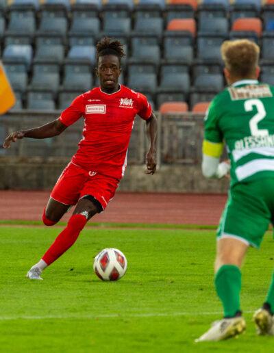Ndongo avait inscrit un but face au SC Kriens