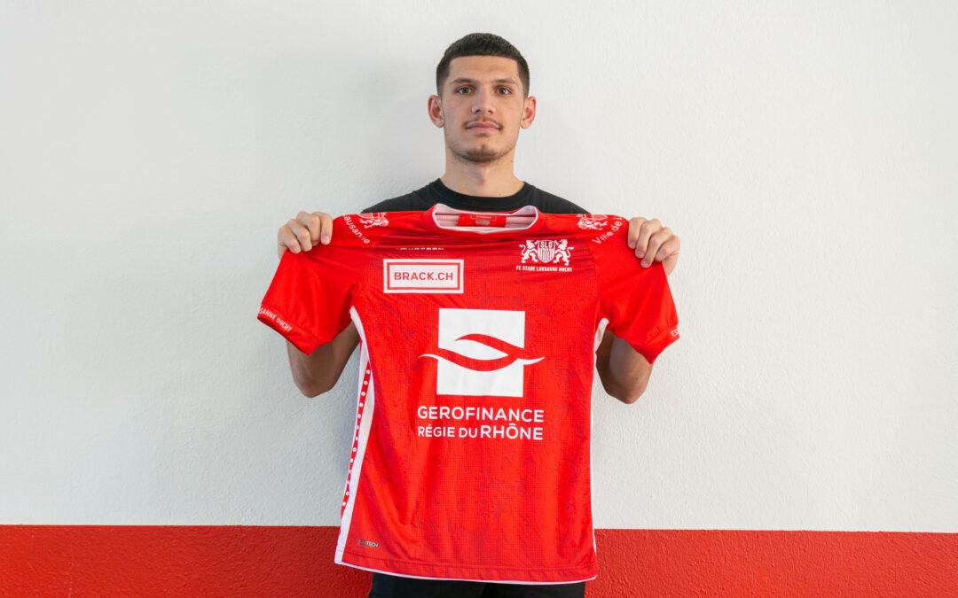 Alban Ajdini rejoint le SLO !
