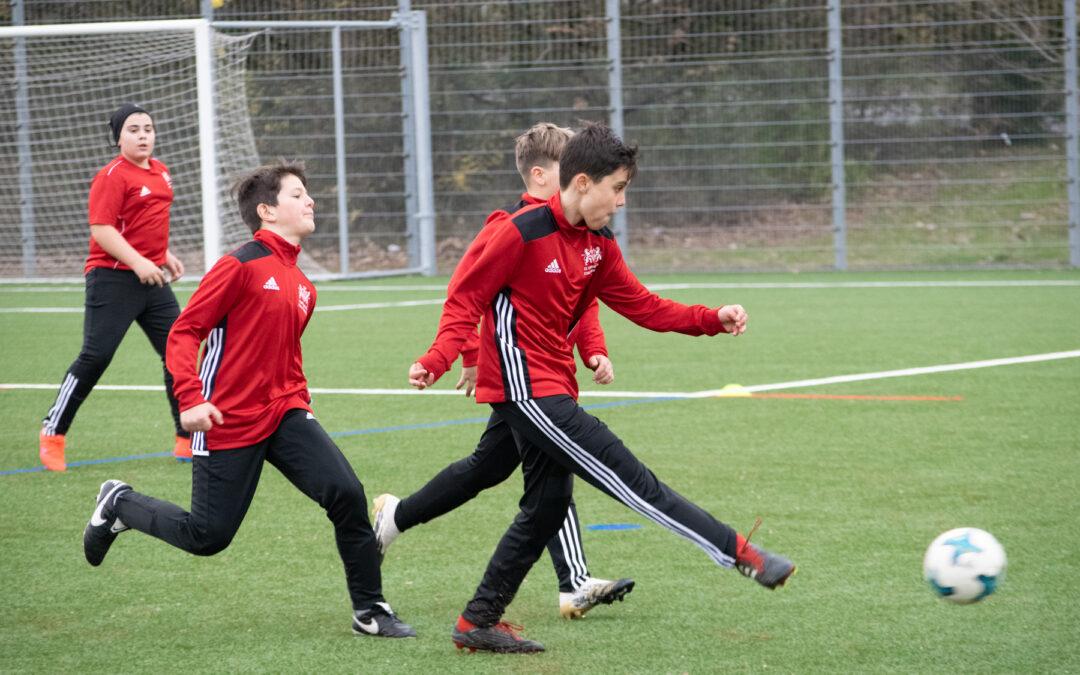 Un retour à l'action qui réjouit les juniors stadistes