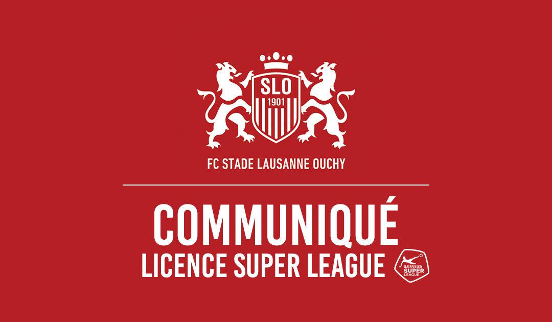Le SLO obtient en première instance sa licence pour la Super League