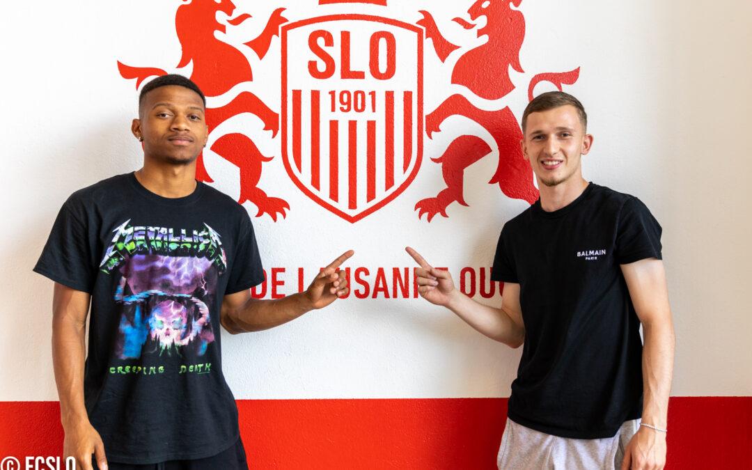 Stéphane Cueni et Florian Hysenaj en prêt au SLO !