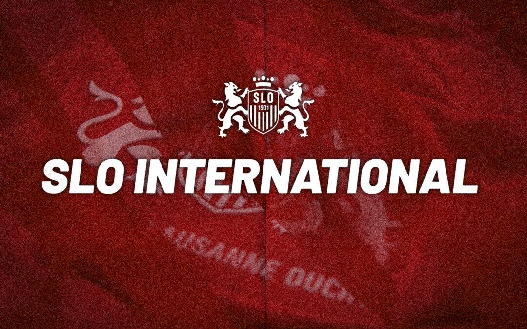 Justin Hammel avec la Suisse M21, Marcis Oss avec la Lettonie